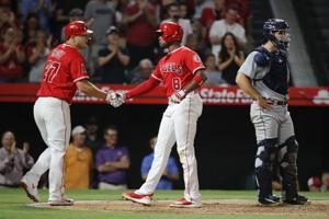 Pujols hits 630th HR, ties Griffey for 6th; Angels rout M's