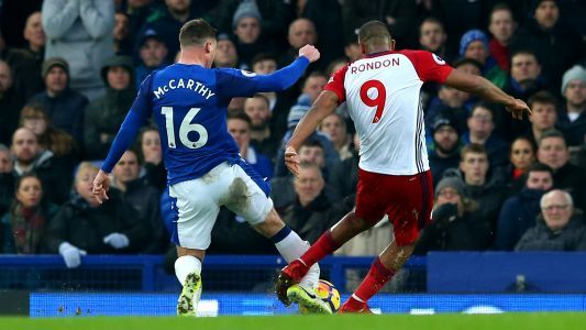 James McCarthy suffers horrific double leg break in accident that leaves Rondon in tears