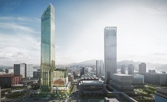 Taipei Sky Tower unveils Taipei's latest mixed-use development