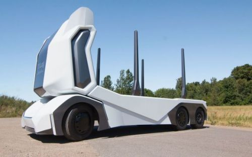 Einride's T-log is an autonomous truck, but only for logs