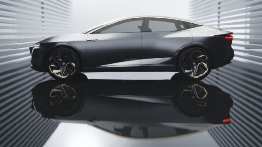 The Nissan IMs Concept Is An Electric Sport Sedan That Looks Pretty Sharp