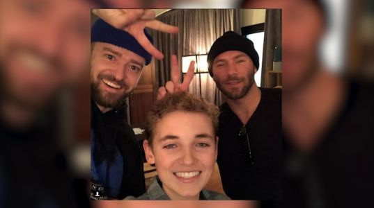 Super Bowl 'Selfie Kid' meets up with Justin Timberlake, Julian Edelman
