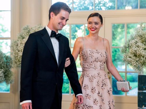 Snap CEO Evan Speigel & his supermodel wife, Miranda Kerr, are worth $3.4 billion - see their houses, cars, and travels