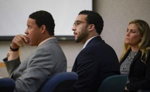 The Latest: Mistrial on last counts in ex-NFL player trial