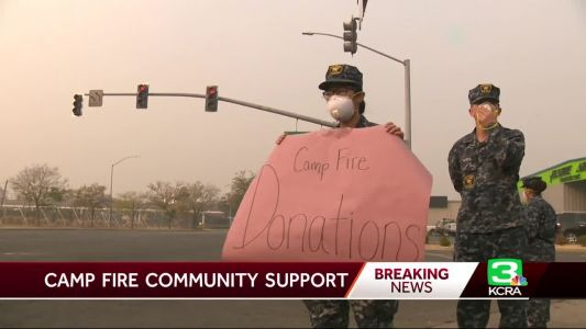 Generosity pours in for evacuees, victims amid Camp Fire's destruction