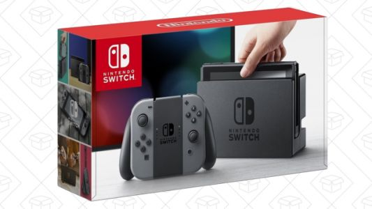 Get a Nintendo Switch For $246, While They Last
