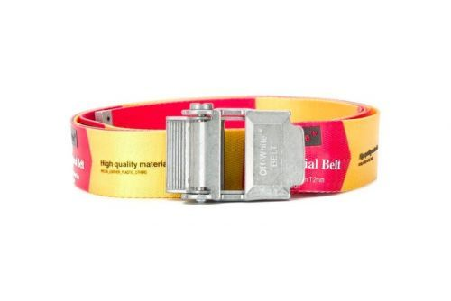 Off-White™ Releases New Red & Yellow Industrial Belts