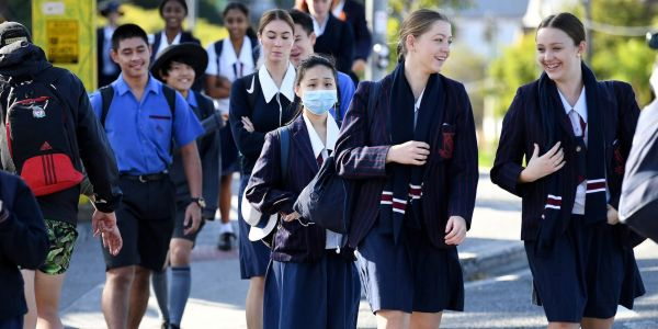 An Australian study of how coronavirus spread in 15 schools found a transmission rate of far less than 1%