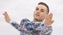 Adam Rippon Says He Wanted 'Xanax And A Quick Drink' On The Ice