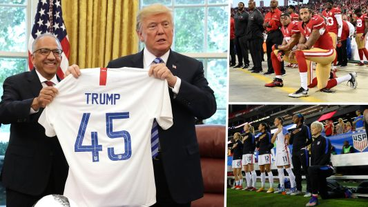 Trump comments place U.S. soccer stars at heart of America's great debate