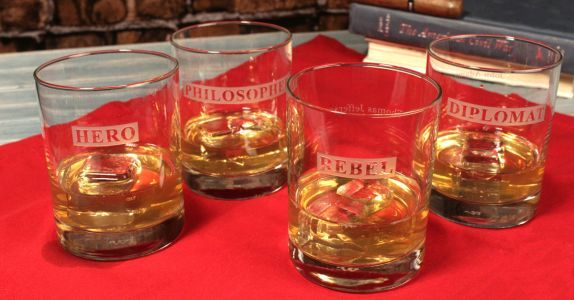 These Whiskey Glasses Are A Must Have For American History Buffs