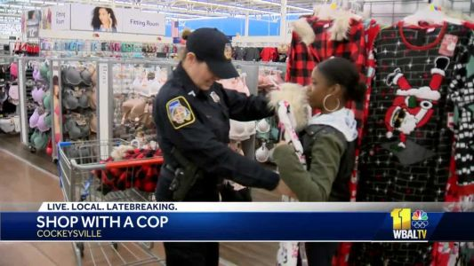 Shop with a Cop ensures kids get gifts for Christmas