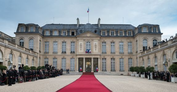 France Offers First Ever Look Inside Presidential Palace Wine Cellar