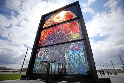 Tourism Ireland unveils new behind-the-scenes video about how stained-glass pieces were created