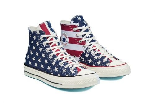 Converse's Chuck 70 Receives Patchwork American Flag Makeover