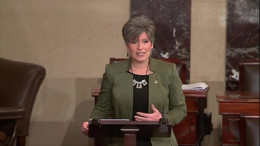 RAW: Ernst urges end to government shutdown