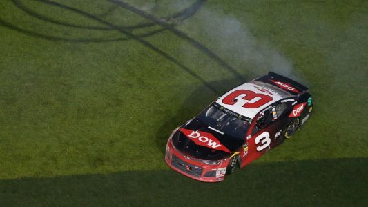 Austin Dillon honors Dale Earnhardt Sr. after 2018 Daytona 500 win