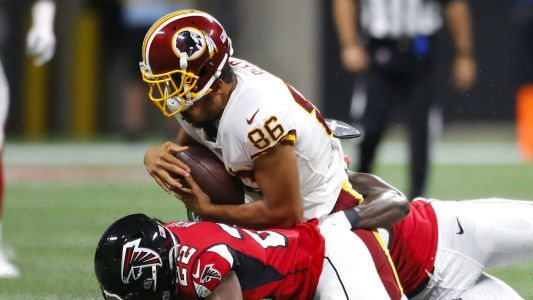 Jordan Reed injury update: Redskins tight end being evaluated for concussion