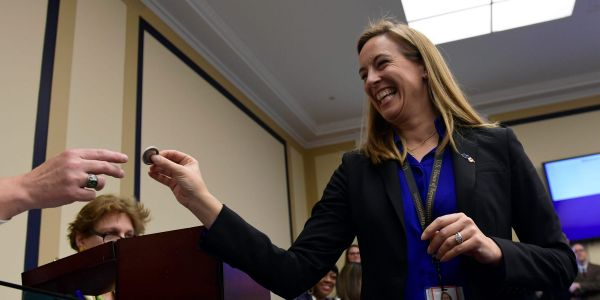 First-term Rep. Mikie Sherrill looks to defend her seat against Republican Rosemary Becchi in New Jersey's 11th Congressional District