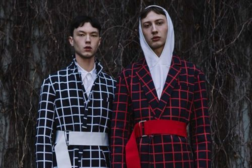 Andrew Coimbra Plays With Retro Sportswear for Fall/Winter 2018