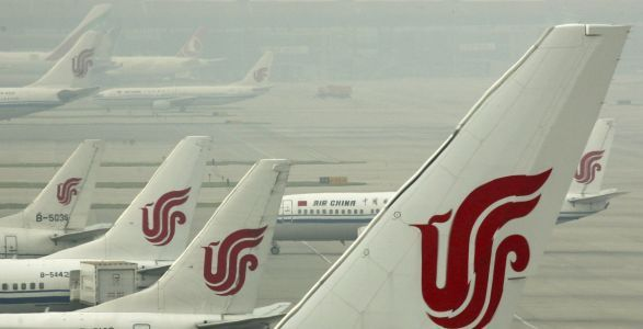 Air China flight loses pressure, makes emergency descent, possibly due to crew members smoking