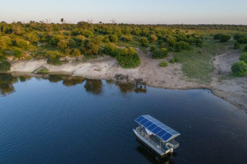 Chobe Game Lodge Introduces Solar-powered Eco Boats