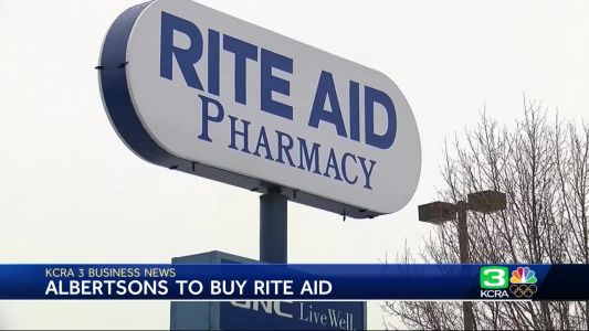 Business News: Albertsons agrees to buy Rite Aid