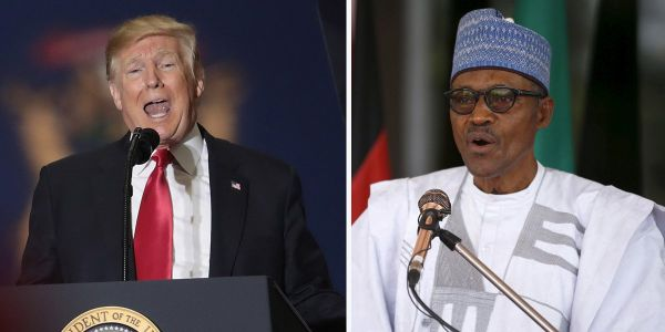 Trump is hosting an African leader at the White House for the first time since his 's--hole' comment