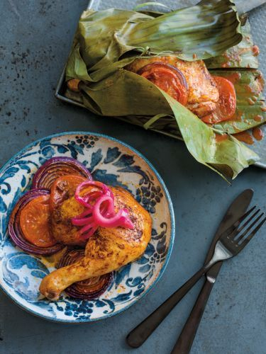 Pibil-Style Baked Chicken