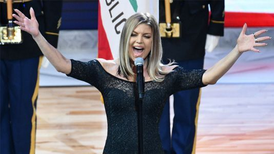 Fergie Issues an Apology After Her Viral NBA All-Star Game National Anthem Performance