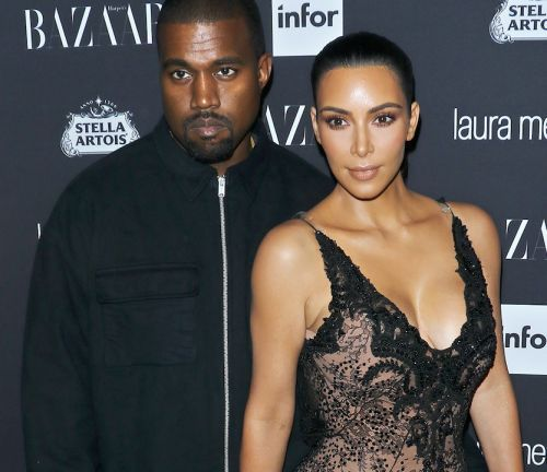 Kanye West Celebrates Love by Posting Photos of Divcored Hollywood Couples