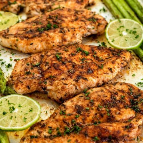 Healthy Oven Baked Chicken Breasts