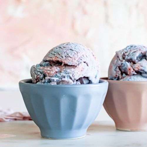 Vegan Cotton Candy Ice Cream
