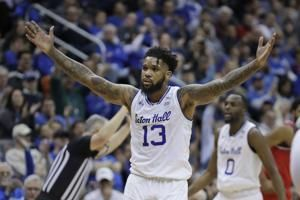 Powell scores 18, No. 16 Seton Hall rolls past St. John's