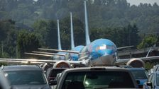 Boeing Has So Many Grounded Jets, It's Parking Them In The Employee Lot