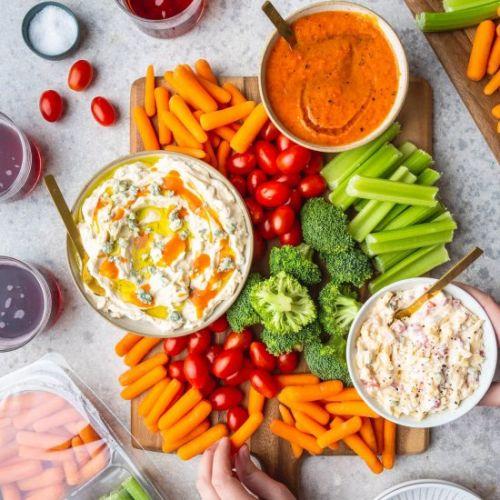 Three Easy Dip Recipes