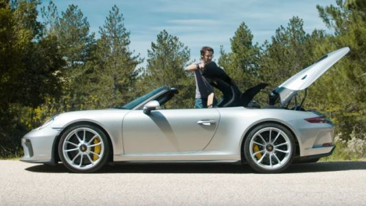 Putting Up the Roof on the $274,500 Porsche 911 Speedster Is Surprisingly Involved