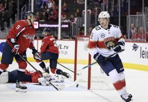 Huberdeau, Panthers beat Capitals for first win of season