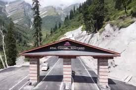 Atal Tunnel, Rohtang, turns into tourist hotspot due to recent snowfall in Lahaul valley