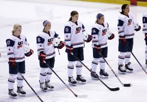 The USA women's hockey team secured its biggest win long before its historic gold medal