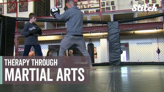 Adaptability program gives kids therapy through martial arts
