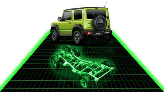 The First Official Images Of The 2019 Suzuki Jimny Show The Off-Road Hardware We All Prayed For