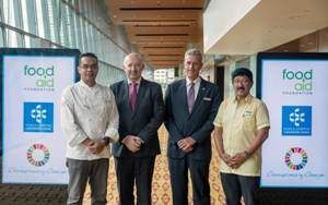 Kuala Lumpur Convention Centre the first venue in Malaysia to collaborate with food aid foundation!