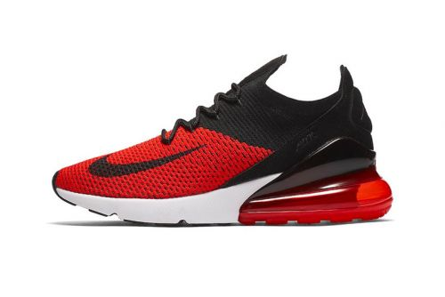 "Nike Drops the Air Max 270 in the Ever-Popular ""Bred"" Color Scheme"