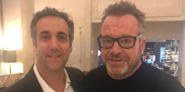 'This dude has all the tapes': Tom Arnold says he and Michael Cohen are teaming up to take down Trump