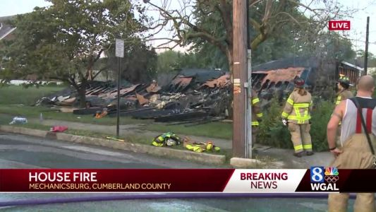 House collapses after early morning fire
