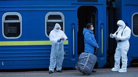 Ukrainian Railways records losses of up to $500 million after Moscow-Kiev train connection is closed due to Covid-19