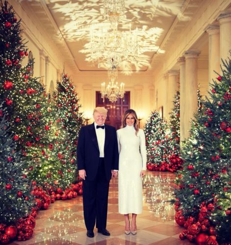 Happy Holidays from the White House: See 91 years of presidents' Christmas cards, from Trump to JFK to Coolidge