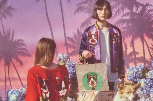 Gucci Celebrates Chinese New Year With Dog-Centric Capsule Collection