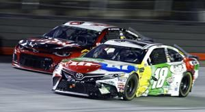 Kyle Busch not his usual dominant self at Bristol this time